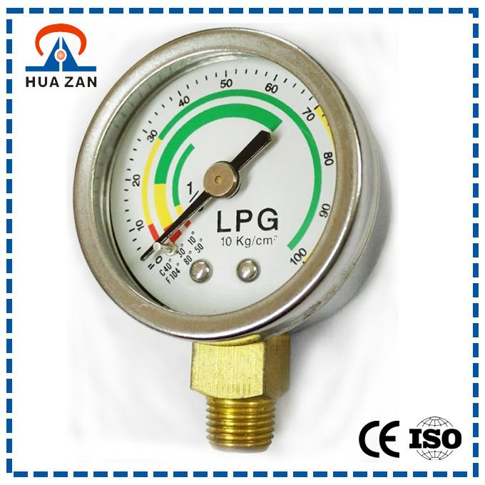 Custom LPG Pressure Regulator China Chromate Treatment LPG Gas Pressure Gauge - China LPG Gauge. LPG Pressure Gauge
