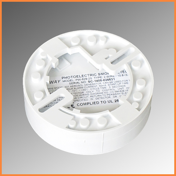 4 wire photoelectric smoke detector digestive system blank diagram china ul approval pw 629 alarms fire alarm