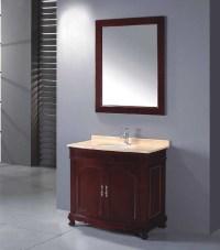Solid Wood Bathroom Cabinet / Bathroom Vanity / Bathroom ...