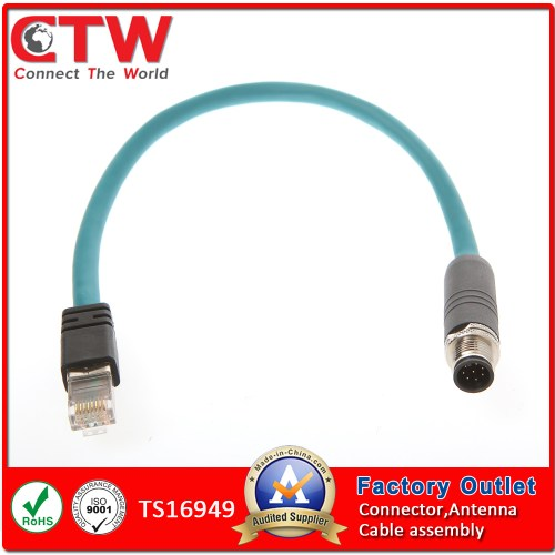small resolution of china m12 to rj45 wiring harness china wire harness wiring harness
