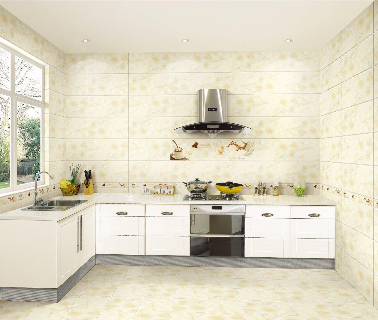 china 300x600 marble pattern kitchen