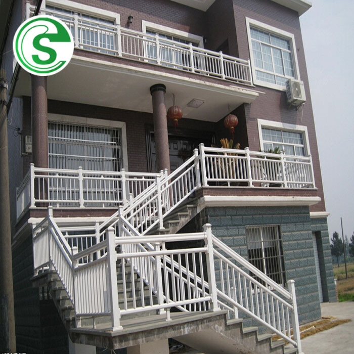 China Customized Outdoor Iron Stair Handrail Corrosion Resistance | Outdoor Iron Stair Railing | Garden | Flat Iron | Decorative | Deck | Rustic