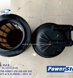 images of k10826 bc3z9n184b 33615 powersteel filter fd4615 bc3z9n184b for ford f 250 super duty 2011 2015 for ford f 350 super duty 2011 2015 [ 1167 x 871 Pixel ]