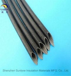 silicone fiberglass sleeving for wire harness cable protection [ 1000 x 1000 Pixel ]