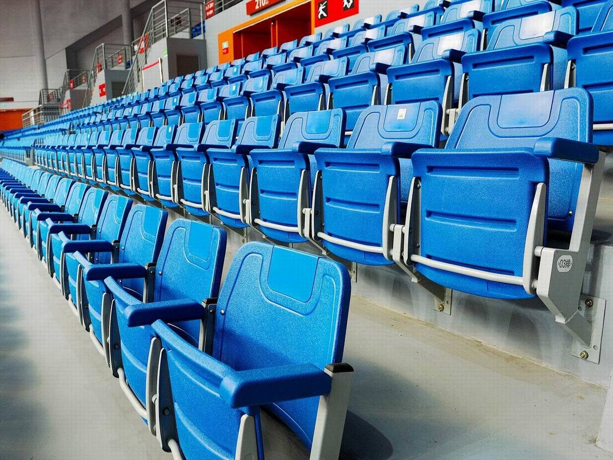Stadium Chairs China Blow Plastic Folding Stadium Chair With Armrest Cs