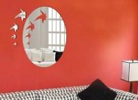 China Decorative Wall Mirror Sticker (KXQJ-JF001) - China ...
