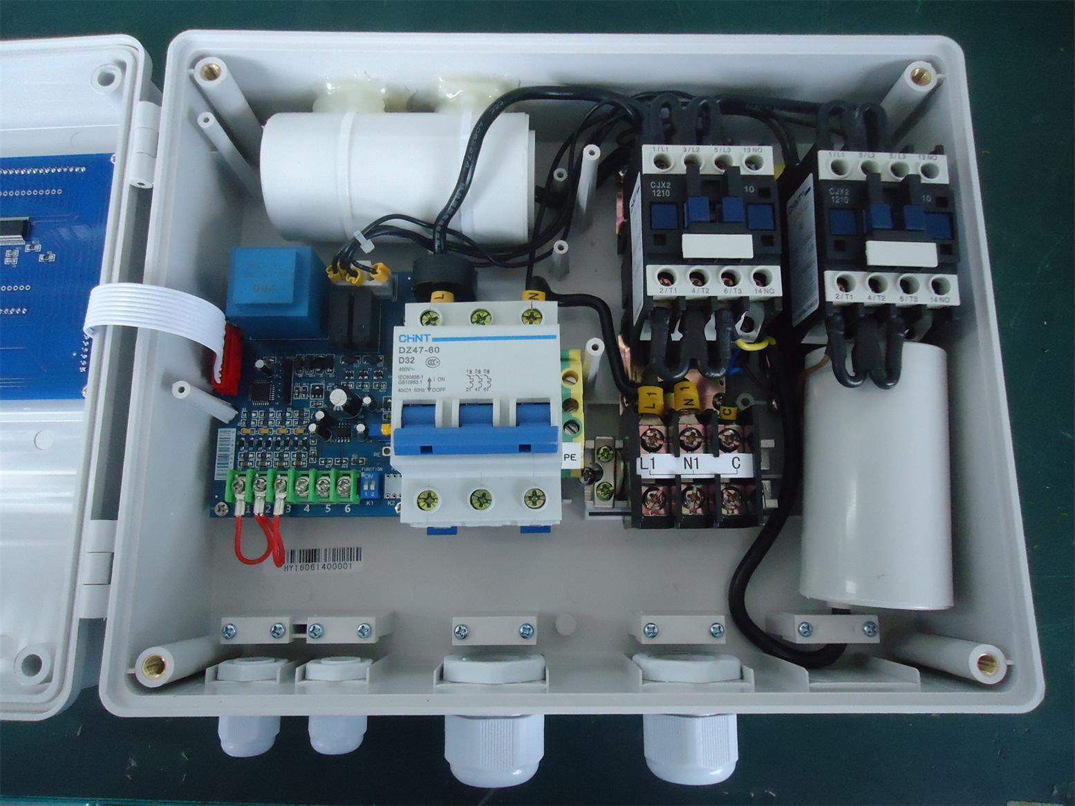 single phase capacitor start run motor wiring diagram 2 carrier furnace thermostat air pressor power
