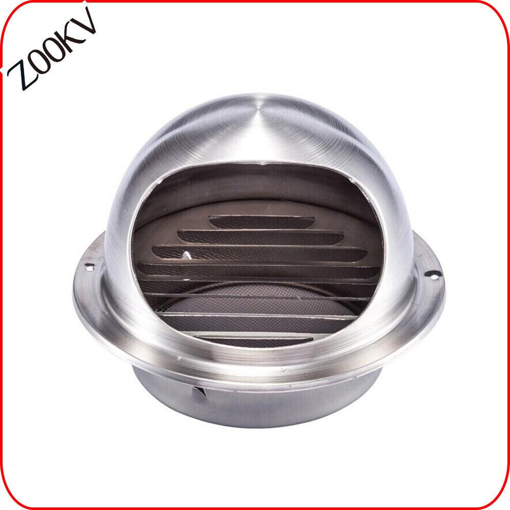 hot item round kitchen exhaust air stainless steel waterproof air vent cap