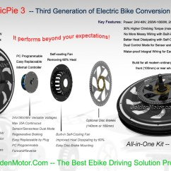 Electric Wheelchair Wiring Diagram Honda Engine Gcv160 Carburetor China Programmable, Built-in Controller, Hub Motor E Bike Kit And Smart Pie Bicycle/all ...