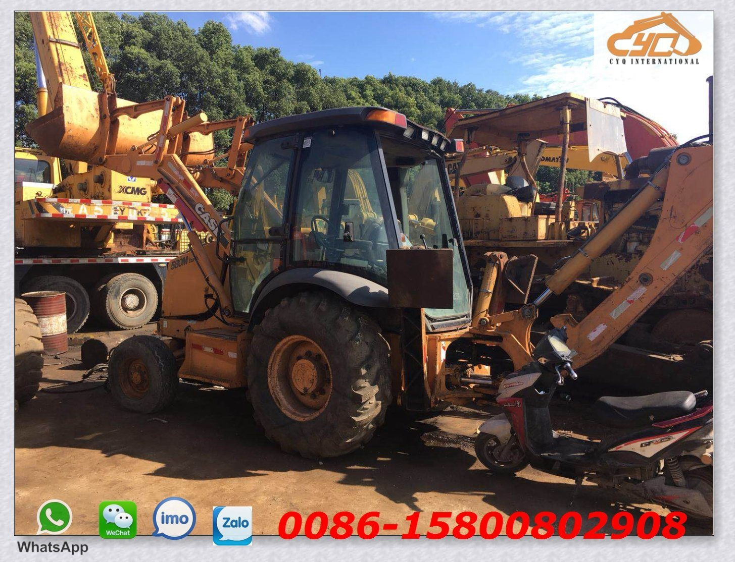 hight resolution of china used case 580m backhoe loader used skid steer loader case 580m china used case backhoe loader secondhand backhoe for sale