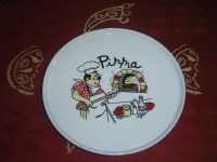 Porcelain Pizza Plate - China porcelain, pizza plate