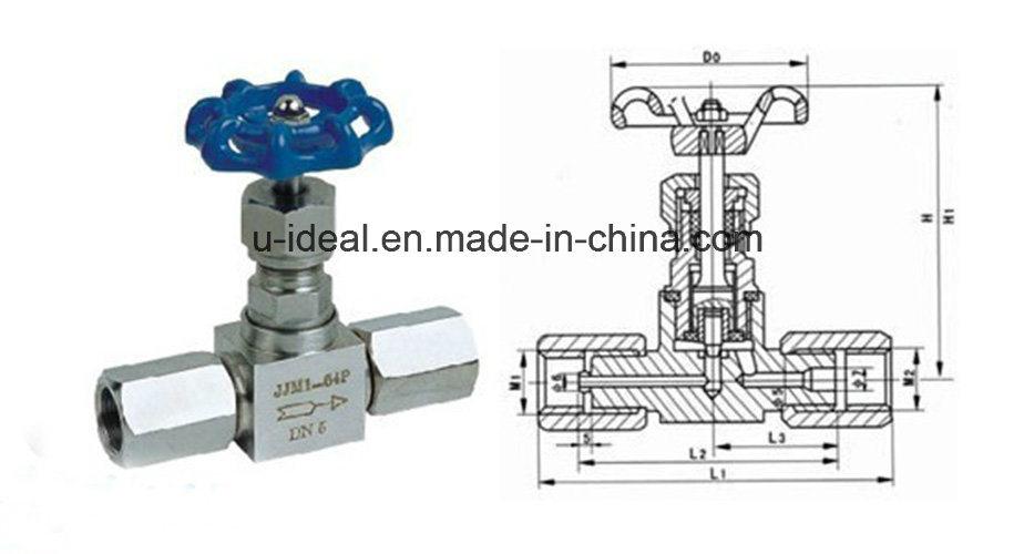 China Pressure Gage Needle Valve-Hydraulic Valve-Gas Valve