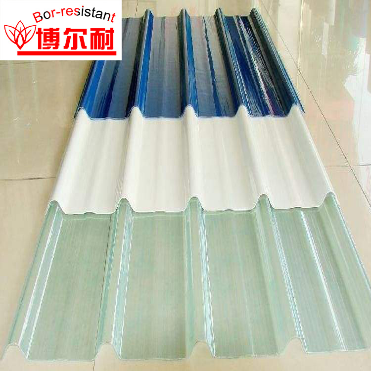 bor roofing china clear weather resistant frp transparent corrugated