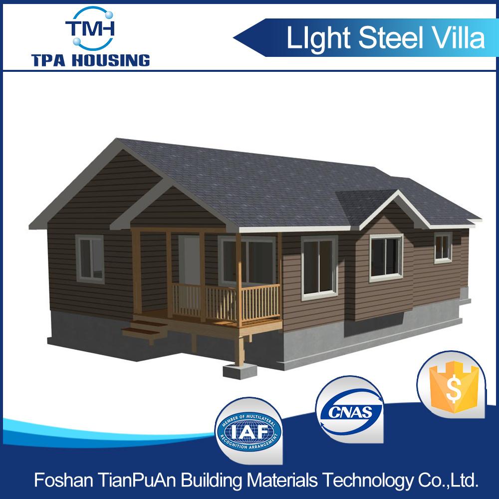 China 3 Bedroom Design Prefab Light Steel House Kit China Prefab House Prefabricated House