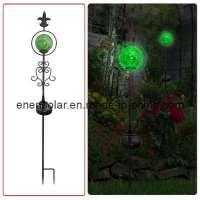 Decorative Solar Garden Lights Photograph | Solar Garden Dec