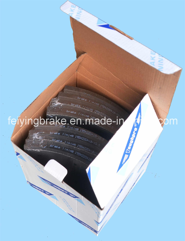 hight resolution of european truck brake lining wva 19939 bfmc vl 88 1 with asbestos and asbestos free