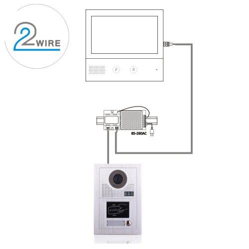 small resolution of 10 inches doorbell home security interphone video door phone intercom