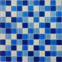 China Swimming Pool Glass Mosaic Tiles