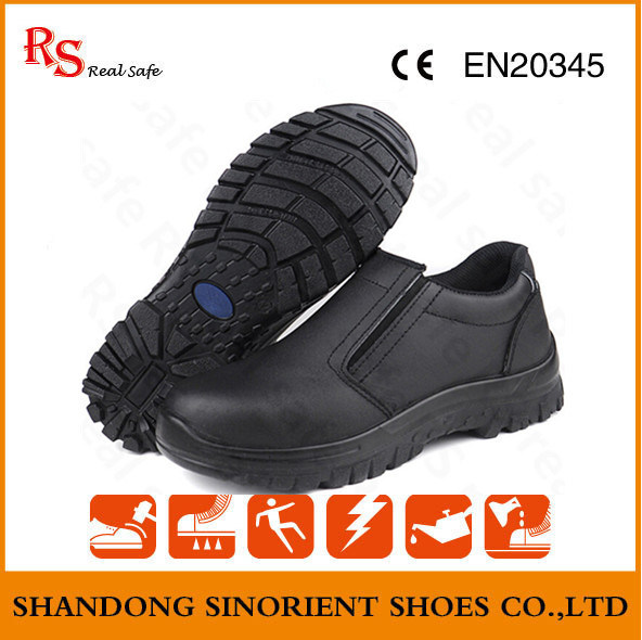 kitchen safe shoes walmart rugs china oil and water resistant leather safety working no lace rs5853 shoe