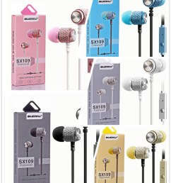 china sx109 braided wiring sport headset stereo earbuds in ear wired earphone handfree universal noise reduction ear phone china earphone microphone [ 1002 x 1202 Pixel ]