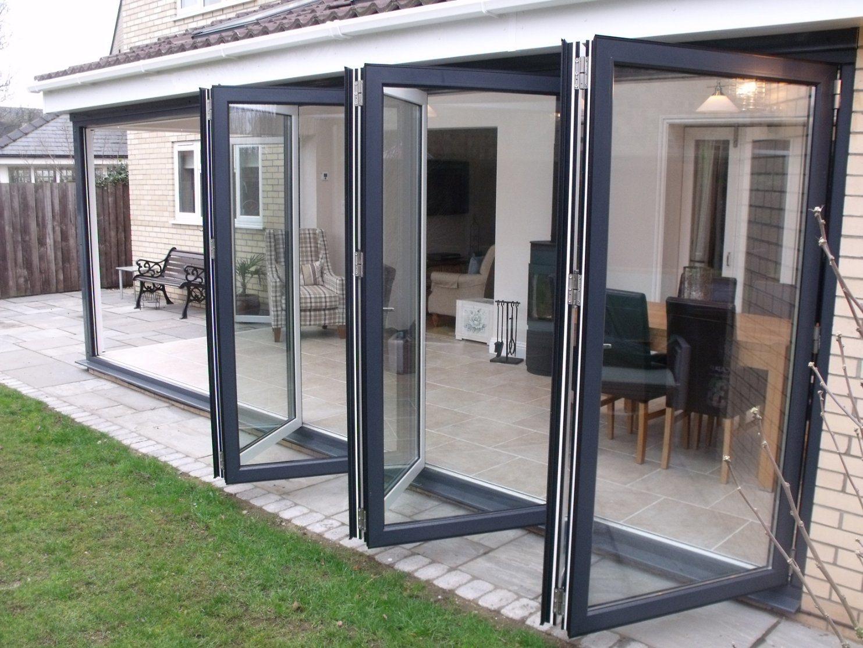 china aluminium patio door folding