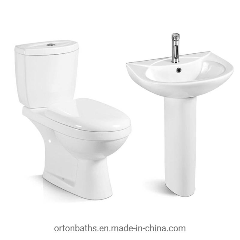 hot item negeria ghana africa two piece toilet combo set suit toilet