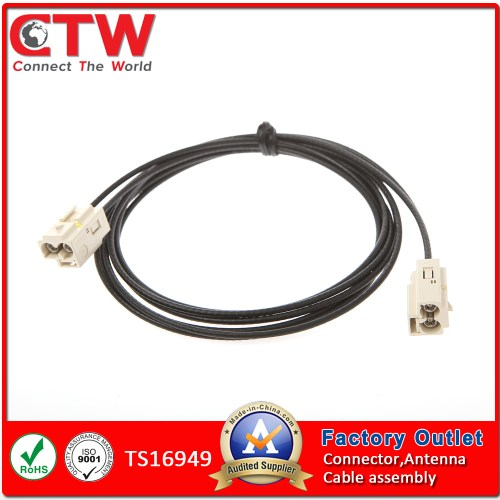 small resolution of china auto double fakra auto car industry wiring harness wire harness china auto wire harness car wire harness