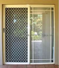 Security Screen Doors: Metal Security Sliding Sliding ...