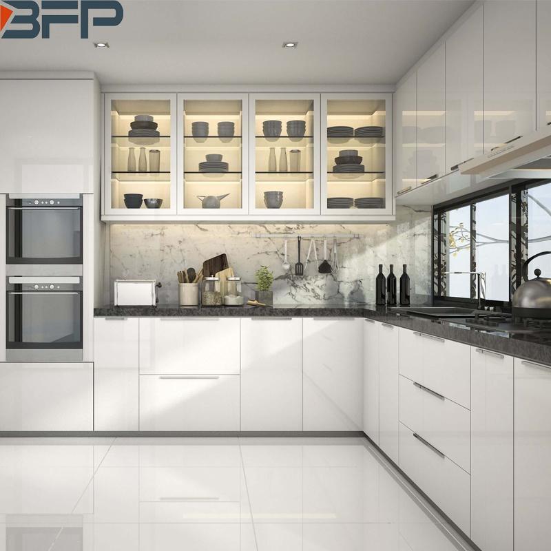 China 2019 Kitchen Design Trends L Shaped Modern Kitchen Cabinets China Custom Made Kitchen Furniture Kitchen Cabinets