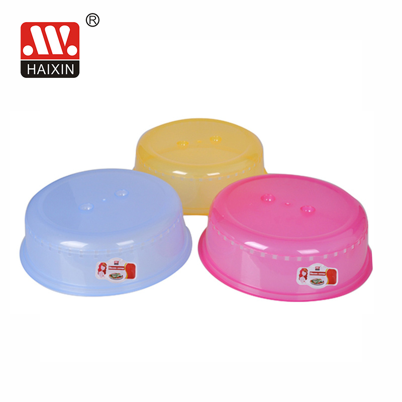 hot item plastic microwave cover for kitchen plate food storage