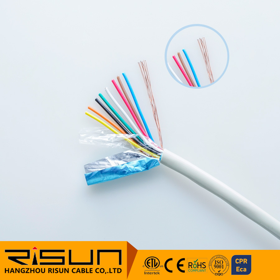 hight resolution of china fire alarm cable security shielded alarm cable china alarm cable 0 22mm2