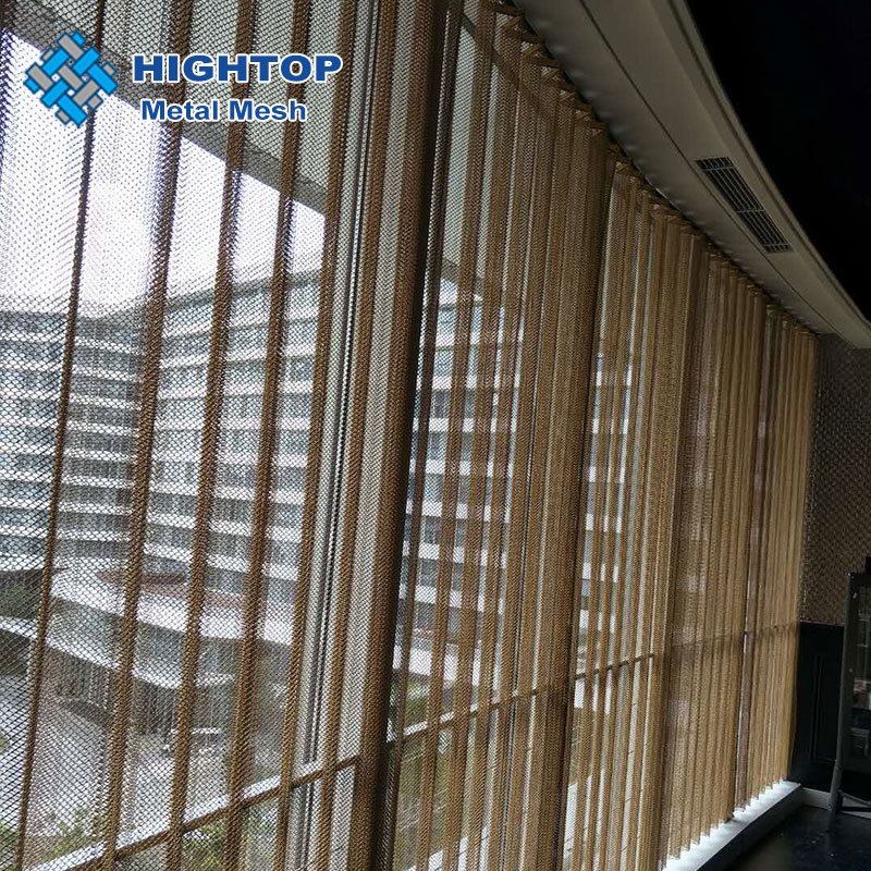 hot item flexible aluminum metal mesh curtain for home and inerior decoration