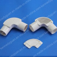 China Electrical Pipe Fittings PVC Conduit Saddle Photos ...