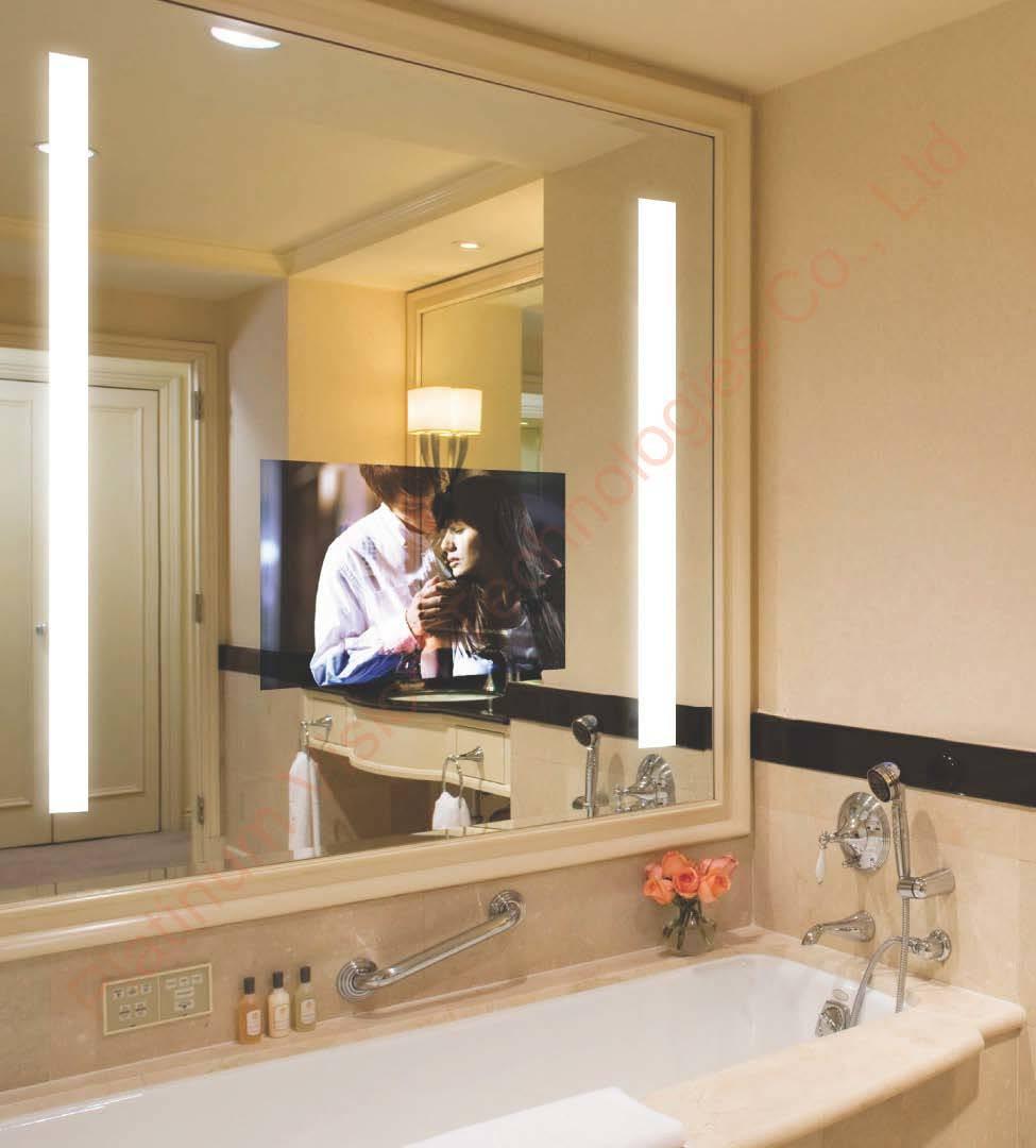 China Hotel Mirror TV  China Bathroom Tv Waterproof Tv