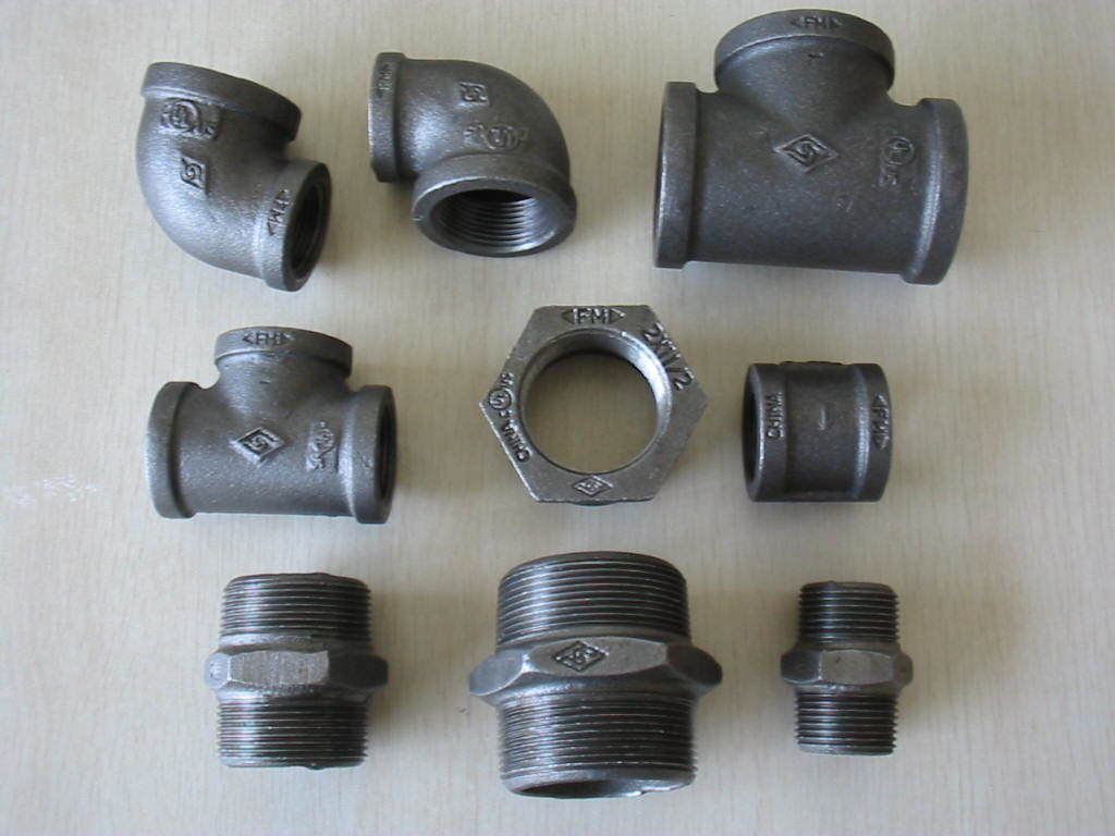 China Malleable Iron Pipe Fittings Photos & Pictures