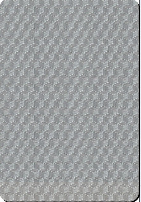 China Cube Pattern Embossed Stainless Steel Sheet (EM040