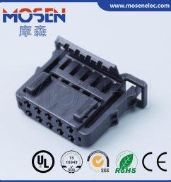 vw audi wiring harness plug 10 pins waterproof connector 6q0972725 [ 1239 x 1239 Pixel ]
