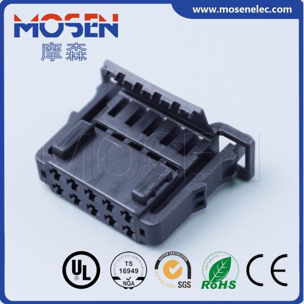 medium resolution of vw audi wiring harness plug 10 pins waterproof connector 6q0972725