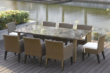 outdoor furniture dining luxury tables patio garden chairs china end sets table room modern backyard pool wood inside appealing kartell