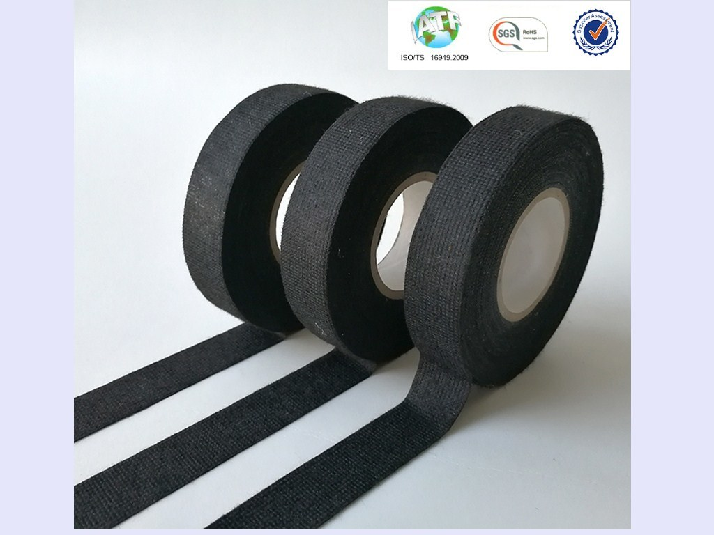 hight resolution of sample good sticky black wire harness fleece tape for resisting abrasions