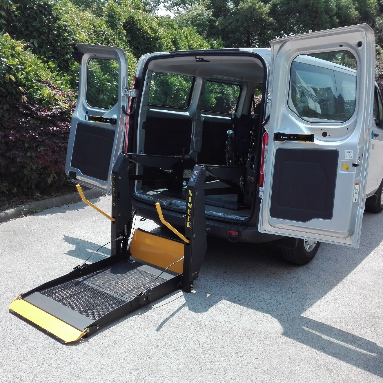 Wheel Chair Lift China Ce Certified Electric Wheelchair Lift For Van