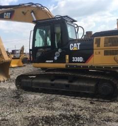 used caterpillar 330d crawler excavator in good quality [ 1440 x 1080 Pixel ]