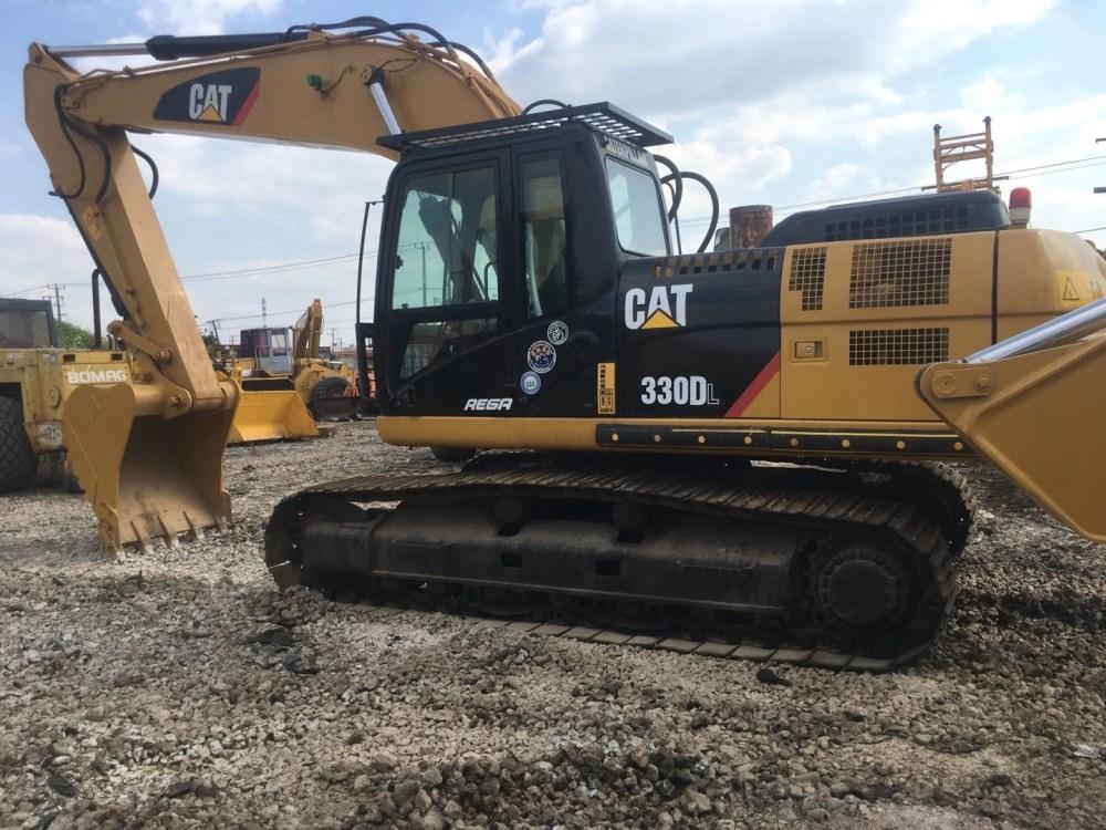 medium resolution of used caterpillar 330d crawler excavator in good quality