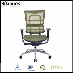 Comfortable Swivel Chair Turquoise Cushion China Bifma Standard For Manager