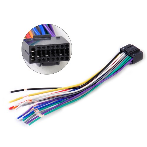 small resolution of china kenwood car stereo 16p iso wiring harness china kenwood wire harness manufacturer 16 pin iso wire harness supplier