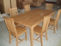 China Dining Table & 6 Chairs (TC8101) - China Oak Chair ...