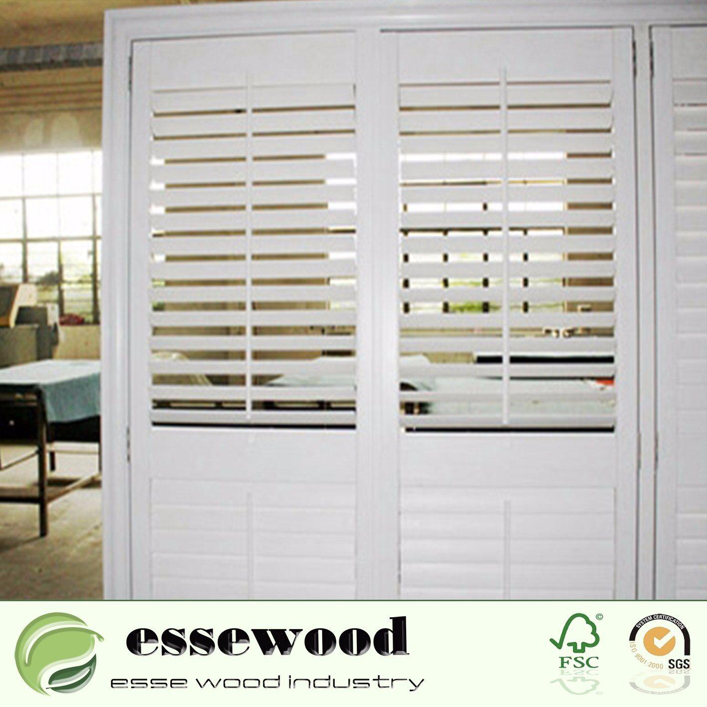Hot Item Window Treatments Plantation Vinyl Shutters For Sliding Glass Doors