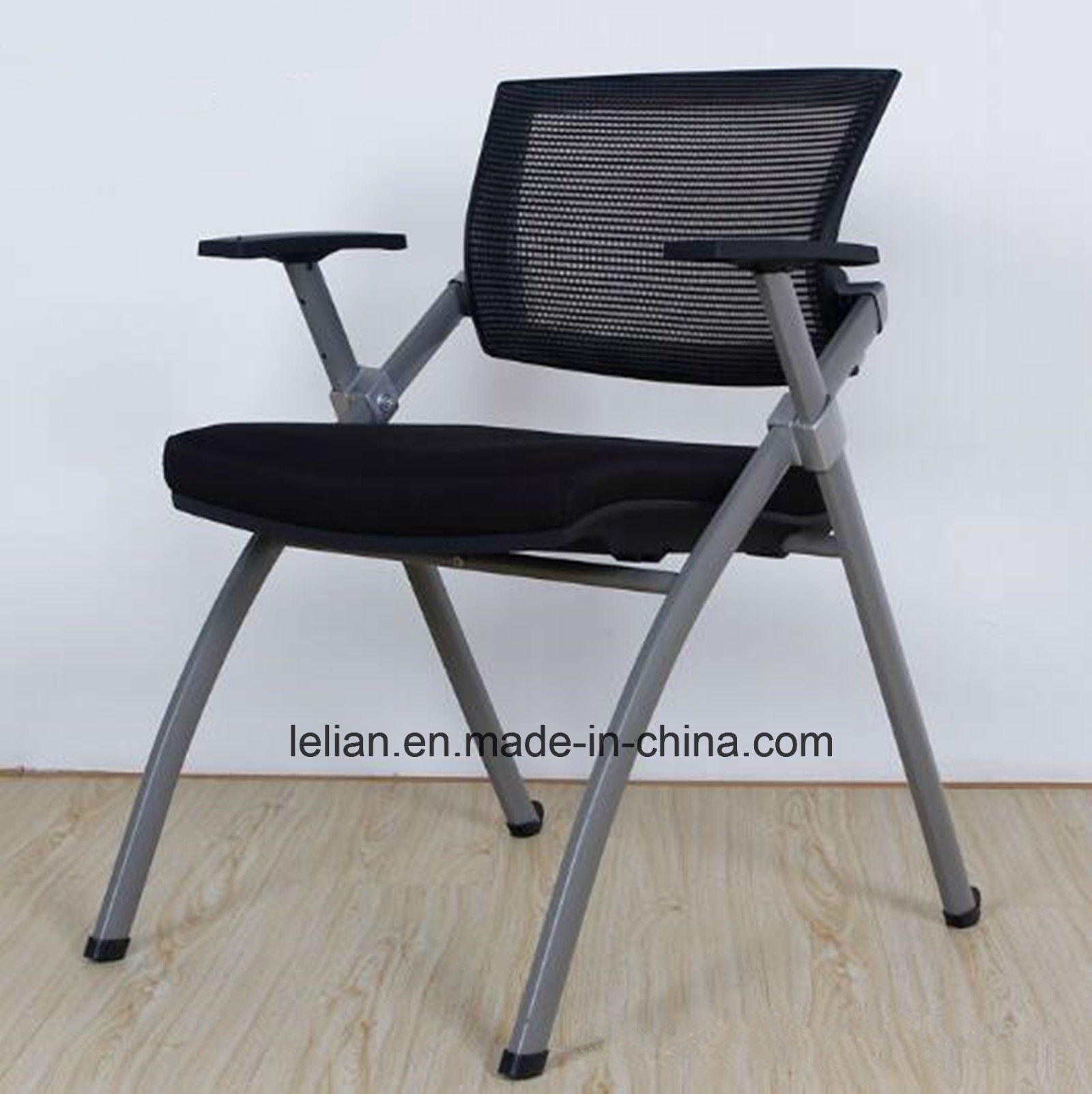 Foldable Office Chair Hot Item High Quality Study Furniture Foldable Meeting Chair Office Chair With Writing Board