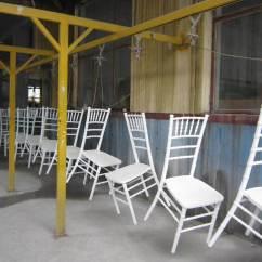 Chiavari Chairs China Air Travel Beach White Spray Paint Chair Bcc001