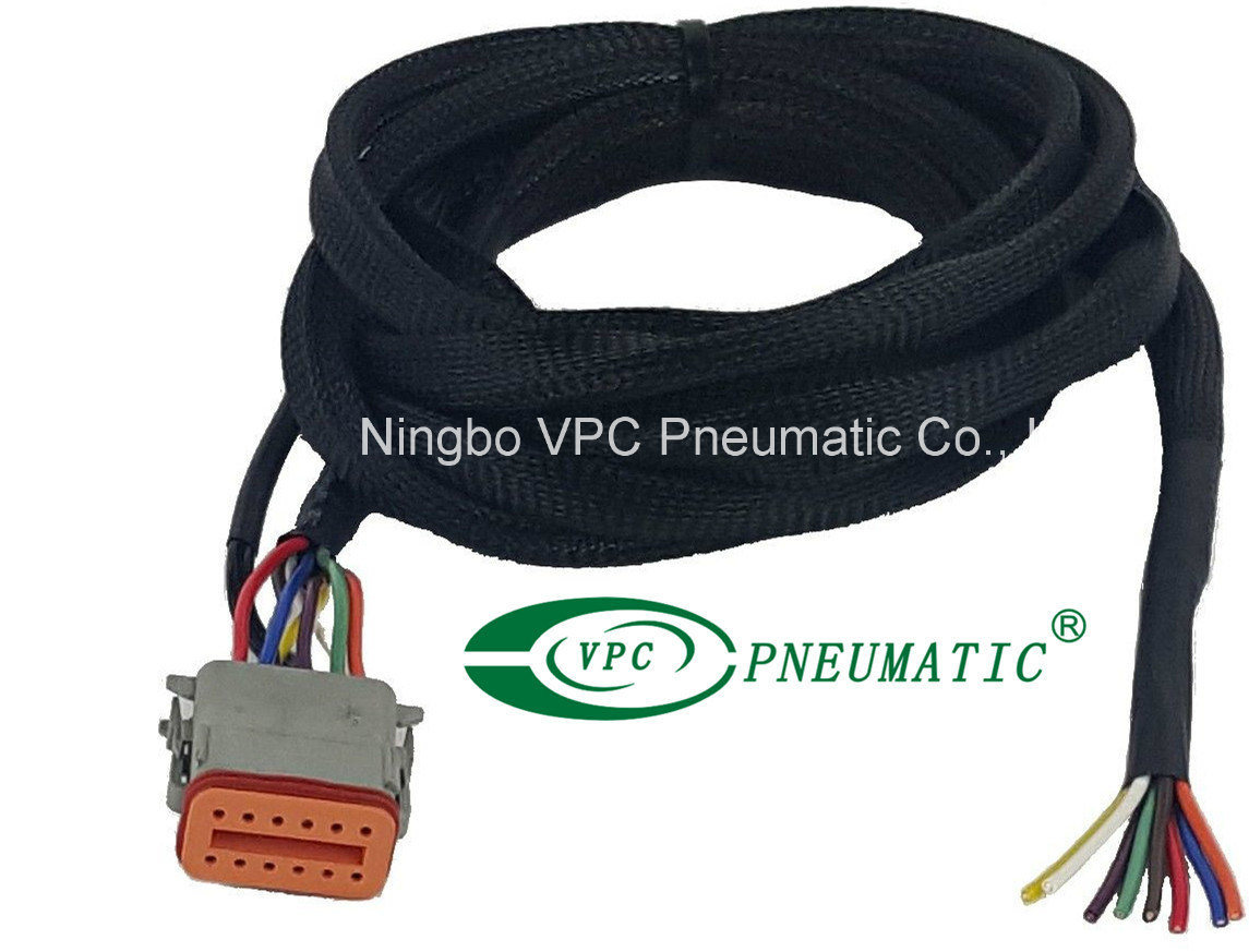 hight resolution of china air ride suspension vu4 wiring harness connects valves to any custom switch boxes air ride